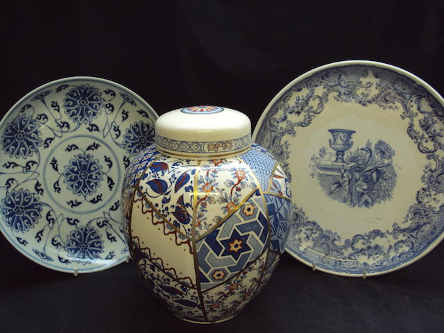 A small mixed collection of ceramics