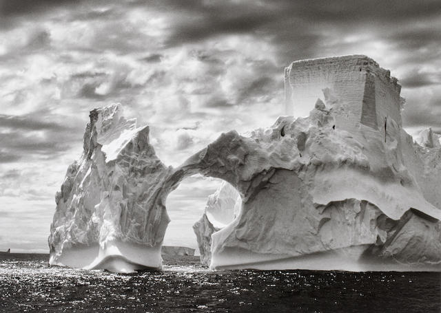 Sebastião Salgado (Brazilian, born 1944) Iceberg Between the Paulet Island and the Shetland Islands, Antarctica, 2005