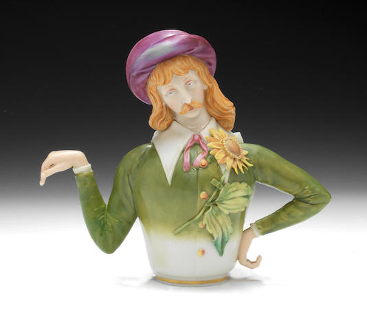 A Royal Worcester Aesthetic Teapot and cover, dated 1882