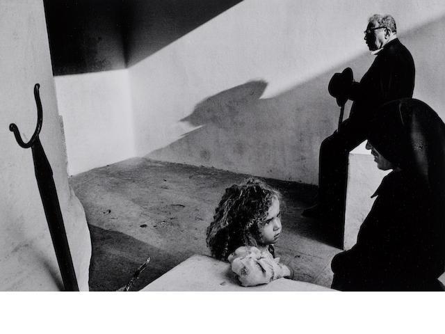 Josef Koudelka (Czech, born 1938) Portugal, 1976 Paper 50.5 x 60.8cm (19 7/8 x 23 15/16in), image 35.8 x 54cm (14 1/8 x 21 1/4in).