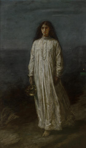 Sir John Everett Millais, PRA (British, 1829-1896) A Somnambulist