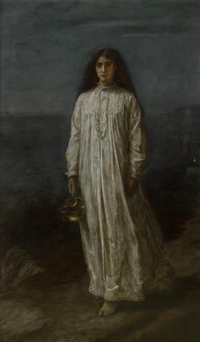 Sir John Everett Millais, PRA (British, 1829-1896) A Somnambulist