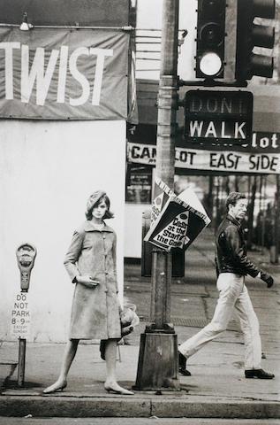 David Bailey (British, born 1938) Jean Shrimpton 'Twist', New York, 1962 Paper 71.2 x 55.5cm (28 x 21 7/8in), image 50.2 x 33.5cm (19 3/4 x 13 3/16in).
