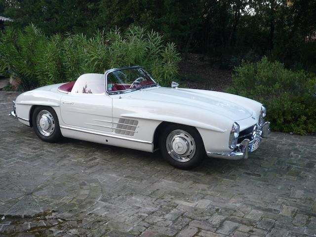 1958 Mercedes-Benz 300SL Roadster  Chassis no. 198.042.8500280