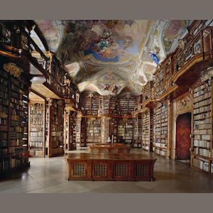 Ahmet Ertug (Turkish, born 1949) The Library of St. Florian Abbey, Austria, 2009 180 x 221.5cm (70 7/8 x 87 3/16in).