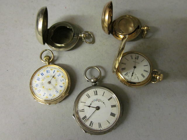 A Victorian fob watch, (5)