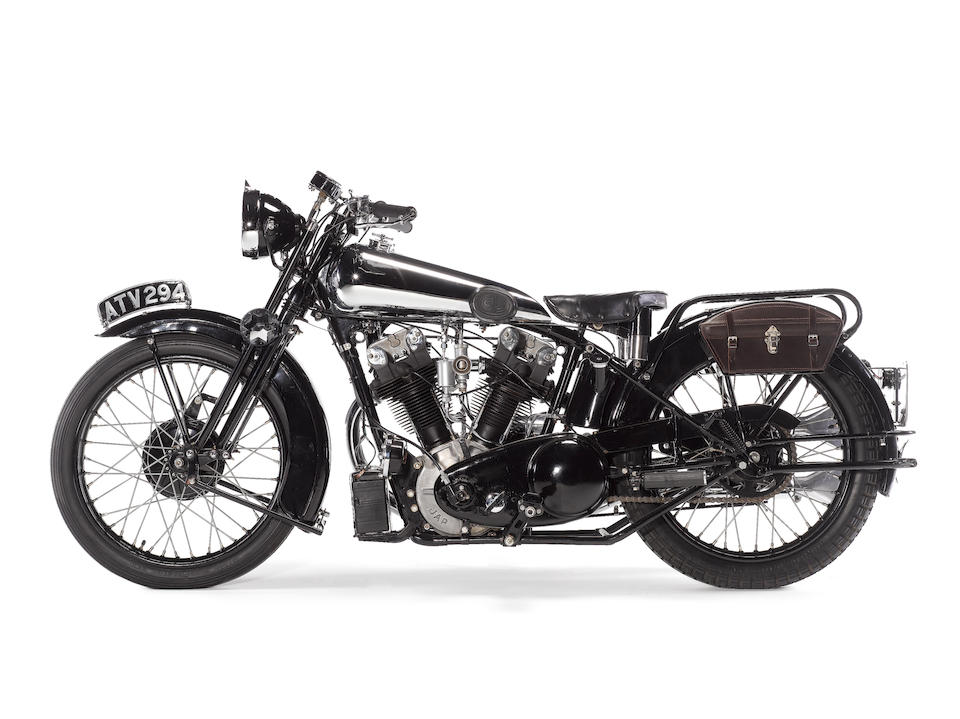 1934 Brough Superior 996cc SS100 Frame no. R1040 Engine no. 41230/S