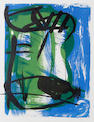 Peter Lanyon (British, 1918-1964) A Cornish Harbour Lithograph in colours, 1958, signed, dated and numbered 32/60 in pencil, 485 x 380mm (19 1/8 x 15in)(I)