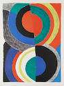 Sonia Delaunay (French, 1885-1979) Untitled Lithograph in colours, on wove, signed and numbered 23/75, with full margins, 951 x 706 mm (37 1/2 x 27 3/4 in)