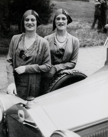 Jacques Henri Lartigue (French, 1894-1986) The Famous Rowe Twins of The Casino de Paris, 1929
