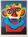 Karel Appel (Dutch, 1921-2006) Untitled Lithograph in colours, on wove, signed and numbered 11/125 in pencil, 790 x 590mm (31 1/8 x 23 1/4in)(SH)