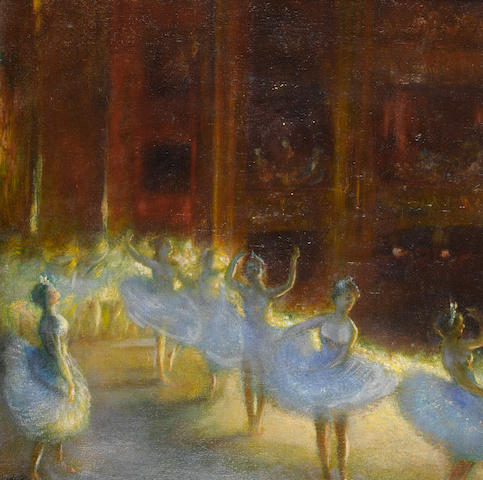 Gaston La Touche (French, 1854-1913) Le Ballet