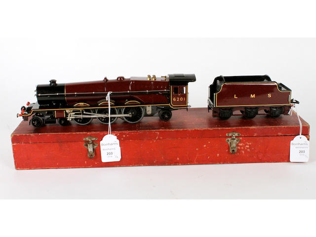 Hornby Series LMS 'Princess Elizabeth' 4-6-2 locomotive and tender