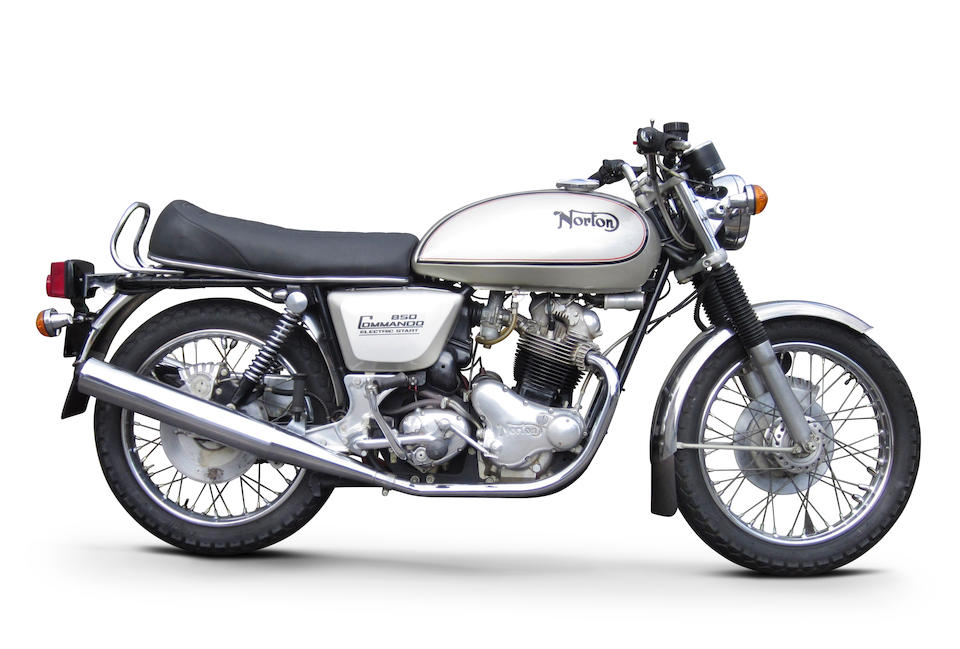 Last off the production line, unregistered, 7 miles from new,1977 Norton 850 Mk III Commando Interstate Frame no. 336539 Engine no. 336539