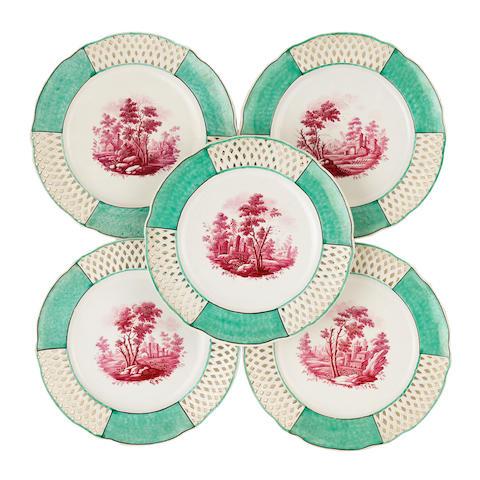 5 Doccia plates 218785/89