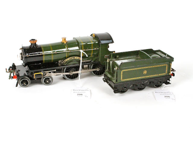 Hornby Series electric No.2 Special 'County of Bedford' locomotive and tender