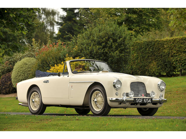 1955 Aston Martin DB2/4 MkII Drophead Coupé  Chassis no. AM300/1104 Engine no. VB6J/625