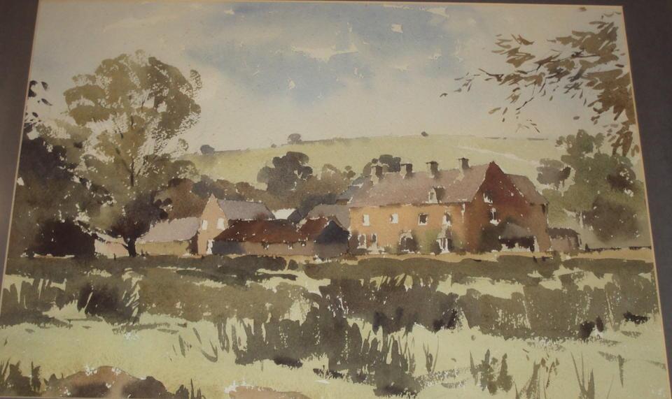 John Yardley (British, born 1933) Chester street scene