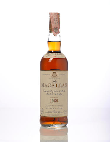 The Macallan-1969 18 year old