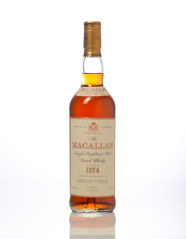 The Macallan-1974 18 year old