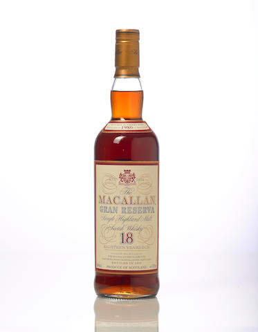 The Macallan Gran Reserva- 1980- 18 year old