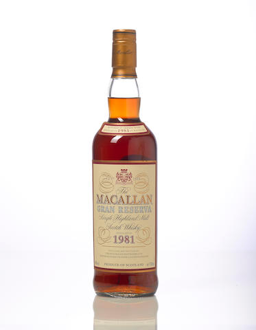 The Macallan Gran Reserva- 1981- 18 year old