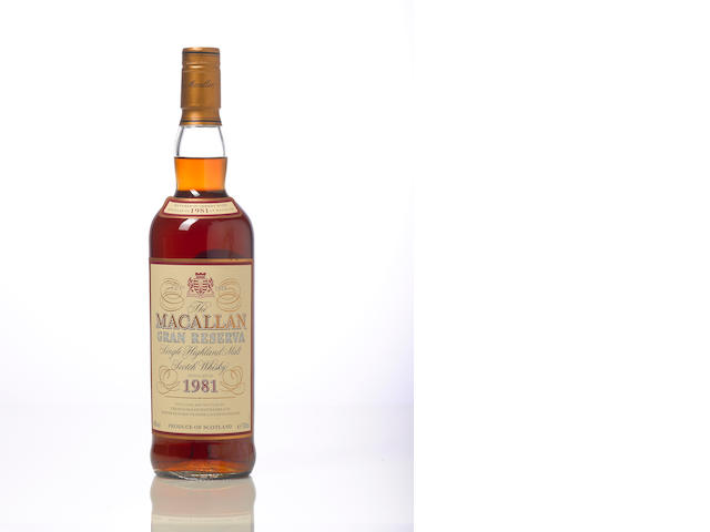 The Macallan Gran Reserva-1981 18 year old