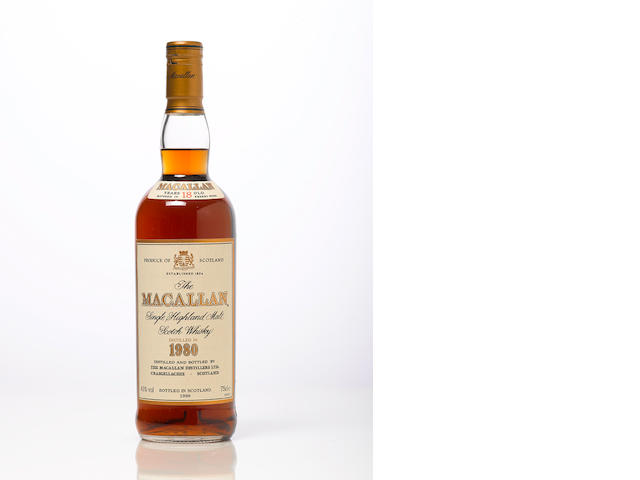 Macallan-1980 18 year old