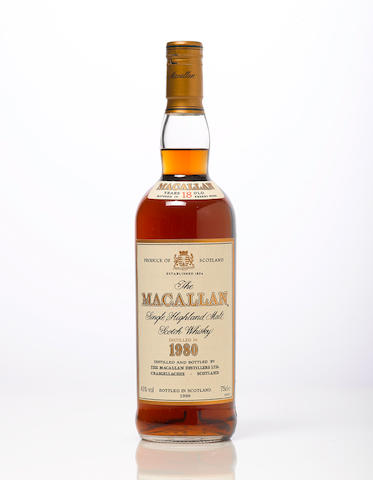 Macallan-1980 18 year old