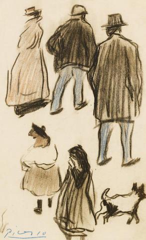 Pablo Picasso (1881-1973) Figuras (Personnages)