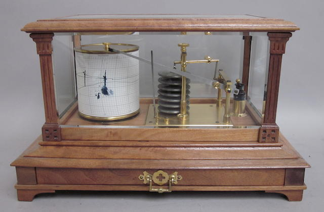 A Short Mason Ltd barograph, English, early 20th century,