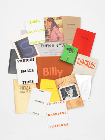 Edward Ruscha (American, born 1937) A collection of 17 photobooks, 1962-2005 1st editions unless otherwise stated, and two signed copies. Various sizes