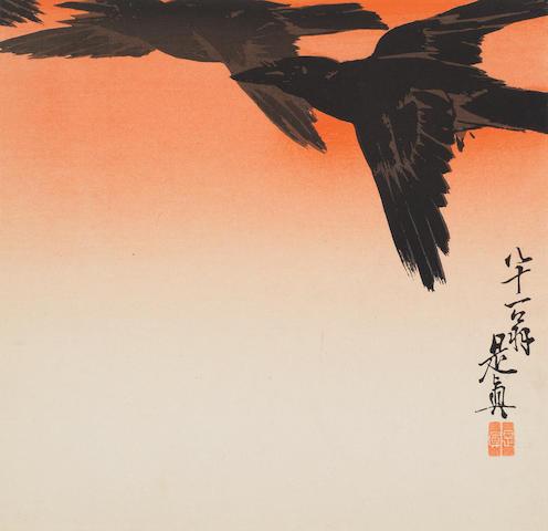 Shibata Zeshin (1807-1891) and others Shijo style, late 19th century