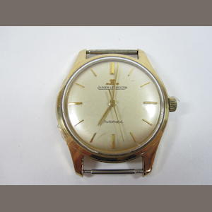 A gentleman's 9ct gold wristwatch, by Jaeger LeCoultre