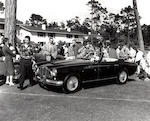 The ex-Edith Field/Innes Ireland,1954 Aston Martin DB2/4 Drophead Coupé  Chassis no. LML 506 Engine no. VB6E/50/337
