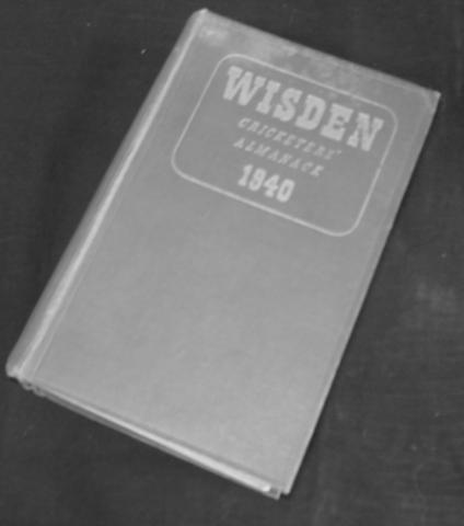 1940 Wisden cricketers almanack