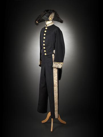 Sir Chaloner Alabaster's uniform as 'British Consul-General in China' Circa 1885