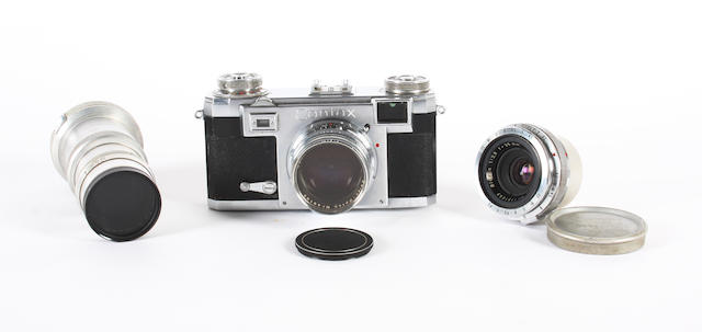 Zeiss Ikon Contax IIA camera