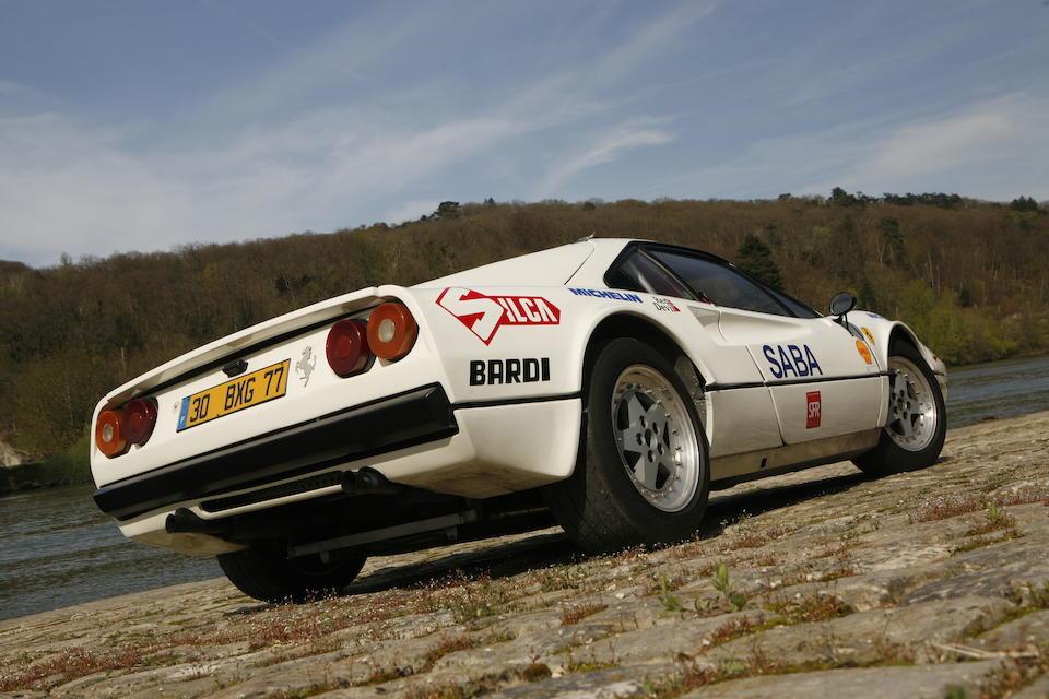 Spanish Championship-winning and Italian national vice-champion,1976/1983 Ferrari 308GTB Berlinetta Group B Michelotto  Chassis no. 18869 Engine no. 18869
