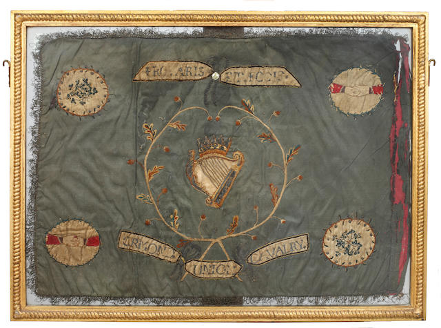 An early Irish cavalry flag guidon