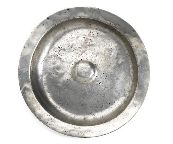 A mid-17th Century bossed dish