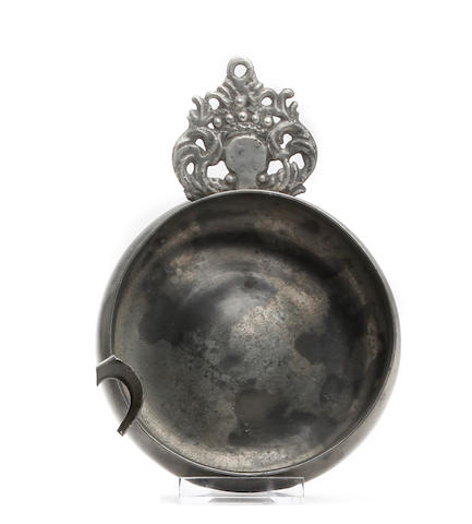 An English porringer, circa 1700