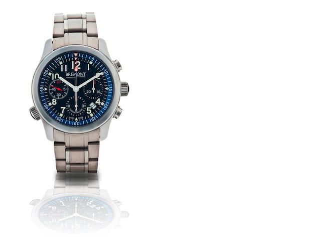 Bremont. A fine stainless steel automatic chronograph wristwatch ALT-1P, Ref: BM-009, Case no. P/0103, Circa 2009