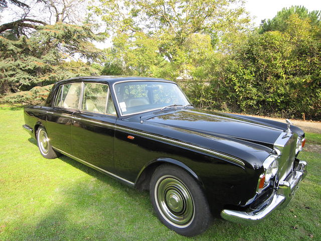 1968 Rolls-Royce Silver Shadow , Chassis no. SRX4210 Engine no. 4210