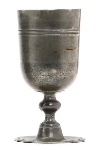 A small English chalice, circa 1800