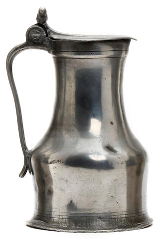 A mid-18th Century Normandy flagon