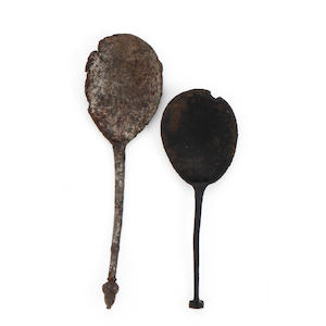 An acorn knop spoon, circa 1500
