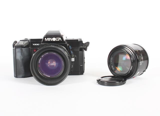 Minolta 7000 AF camera