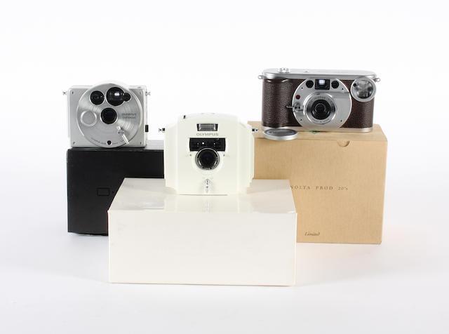 Olympus 'Designer' cameras