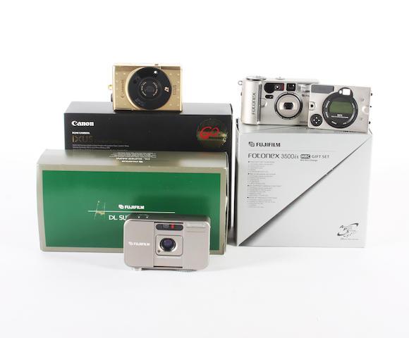 Canon and Fujifilm mini 35mm cameras 3